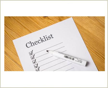 Checklist para su Mudanza Internacional
